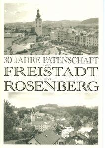 30 Jahre Patenschaft Freistadt - Rosenberg