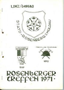 Rosenberger Treffen 1971