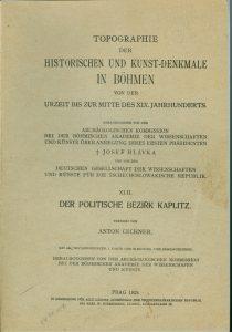 Topographie der Histor. und Kunst-Denkmale in Böhme0001