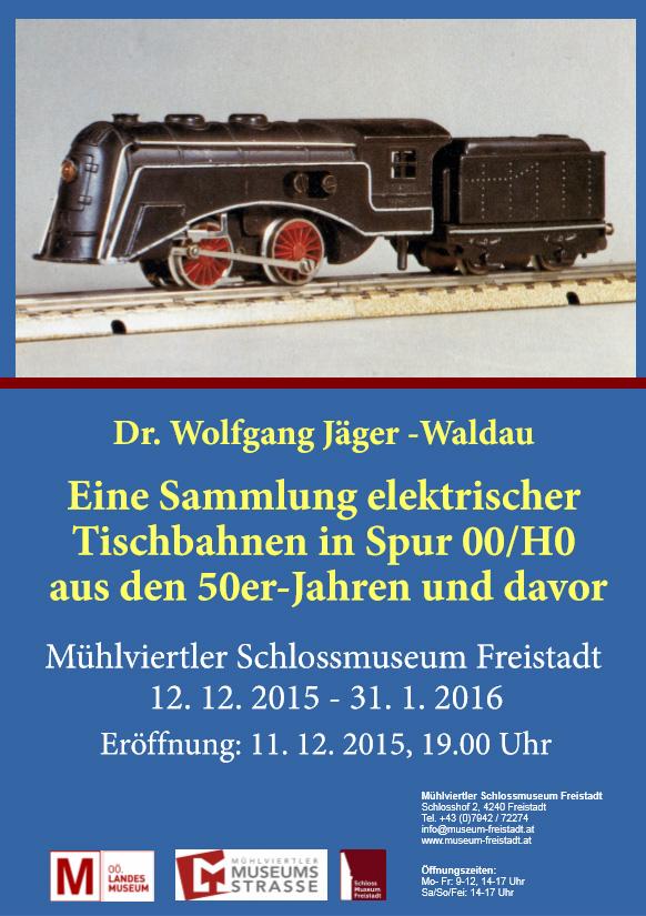 Plakat Jäger Waldau