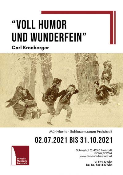 Kronberger Plakat Voll Humor und wunderfein web
